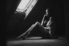 S i s s i (p.gwiazda PHOTOGRAPHIE) Tags: beauty bnw monochrom model woman stille sensual sw portrait portraiture
