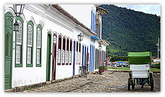 Paraty - Centro Histórico (o.dirce) Tags: paraty rua casas arquitetura centro histórico charrete riodejaneiro odirce