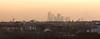 London skyline (Joe Dunckley) Tags: docklands eastlondon england london onecanadasquare southlondon tooting uk wandsworth architecture building city cityscape officebuilding skyline suburbs sunrise