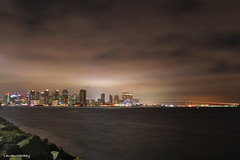 Night Shot SD (lauren_mackay) Tags: nightphotography sandiego sandiegoskyline sandiegocity sandiegocalifornia sandiegophotography longexposure harborisland california brightlights bigcity brightlightsbigcity