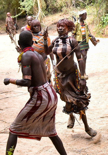 The Whip Hit, Hamar Tribe