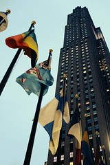 30 Rockefeller Plaza (Towner Images) Tags: us usa ny nyc towner america townerimages newyork bigapple city urban manhattan light lighting illumination building architecture flag rockefellercentre