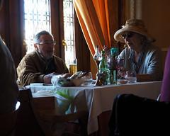 Dim light (Franco & Lia) Tags: street fotografiadistrada photographiederue padova veneto restaurant ristorante penombra dimlight lady signora stphotographia