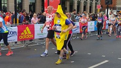 London Marathon 2017 Banana Wayne (sarflondondunc) Tags: londonmarathon westminsterbridge westminster london 2017 banana fyffes
