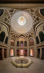 Dowlat Abad Garden mansion, interior (freakingrabbit) Tags: panorama interior vertical dome iran d persia abad dowlat garden badghir dowlad