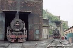 2011/8/3 SY0864&1567 Beitai (Pocahontas®) Tags: sy1567 sy0864 steam engine locomotive loco railway railroad rail train film 135film kodak colorplus200