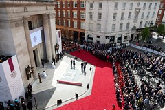 "New Memorial honouring the 64 Freemasons awarded the Victoria Cross during WW1 unveiled by HRH The Duke of Kent at FreemasonsÔÇÖ Hall (3) - Photo credit Chris Allerton - UGLE • <a style=""font-size:0.8em;"" href=""http://www.flickr.com/photos/60049943@N02/34262840696/"" target=""_blank"">View on Flickr</a>"