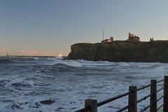 Stormy Seas at Tynemouth (CoasterMadMatt) Tags: tynemouth2017 tynemouth tynemouthcastle2017 tynemouthcastle castle castles englishcastles fort fortress ruin ruins englishheritage english heritage history town towns village villages seasidetown northsea sea ocean roughseas roughsea stormyseas stormysea rough stormy seas januarystorms waves wave breakingwaves crashingwaves lighthouse tyneandwear tyne wear northeastengland england britain greatbritain gb unitedkingdom uk january2017 winter2017 january winter 2017 coastermadmattphotography coastermadmatt photos photographs photography nikond3200