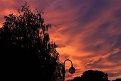 Sky (kiichan20) Tags: sky sunset color colors nuances nuance red blue purple shadow silouhette contrast black