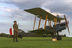 On Guard (Kev Gregory (General)) Tags: timeline events sunset night shoot stow maries great war aerodrome maldon essex world one wwi raf rfc royal flying corp air force sqn squadron biplane aircraft aeroplane historic kev gregory canon 7d vintage aviation corps