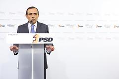 Álvaro Almeida em Conferência de Imprensa