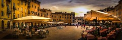 Sabor a Toscana (Juan Figueirido) Tags: toscana tuscany tuscan lucca anfiteatrodelucca italia italy panorama summer travel piazza fz1000