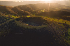 "Volcano. (¡arturii!) Tags: wow amazing awesome superb interesting stunning impressive nice beauty great arturii arturdebattk ""canonoes6d"" gettyimages travel trip tour route viatge holidays vacations volcano garrrotxa catalonia catalunya europe spain drone dron santamargaria crater mountain landscape sunset cool beautiful nature above aerial dji phantom3"