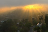 hollywood hills sunset (sjg310) Tags: sunset hollywoodhills hdr la losangeles california landscape nature sun rays