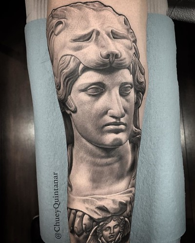 0fc19d1423c0b Alexander the Great statues bust tattoo. #CHUVINCI #ChueyQuintanar .  @TACsciences @chuvincioficial