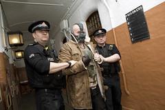 Cash for Kids - Superhero Day 2017 (Greater Manchester Police) Tags: cashforkids superheroday arrested cuffed handcuffed custody bane cell prison superhero