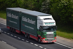 PO62 XPC (markkirk85) Tags: lorries truck trucks a1 motorway a1m scania r440 eddie stobart m468 blake ellie po62 xpc po62xpc