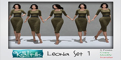 KaTink - Leona Set 1 (Marit (Owner of KaTink)) Tags: 60l 60lsales my60lsecretsale sl secondlife katink photography 3dphotography salesinsl