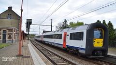 AM 487 (sncb1357) Tags: train sncb sncf nmbs cfl treinen belgique locomotive traxx desiro lineas