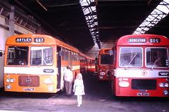 Howe Bridge Depot (ee20213) Tags: lancashireunitedtransport howebridge atherton 390 dtc738j plaxton seddon cte472e bristolre 246 lut