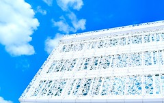 B.U.B.B.L.E.S (ИicoW) Tags: photooftheday citylife lookinguparchitecture lookingup europe abstract welovebrussels belgium bruxellesmabelle clearsky cloudstagram cloudporn clearskys cloud skyview graphicdesign creative decoration archilovers architecturelovers building decor bluesky bubbles bruxelles brussels skylovers belgique sunny designer sunshine skyporn archidaily sunnyday architect minimal visitbrussels buildings architectureporn architecturephotography architexture cityscape lines perspective modern archdaily facade design texture outdoors nikkor lens town