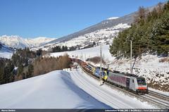 Lomo Br186.285 (Marco Stellini) Tags: lokomotion traxx bombardier 186 2 285 tirol matrei am brenner brennero steel train