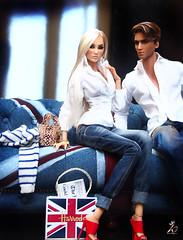 Retail Therapy (kingdomdoll) Tags: kingdomdoll kingdom doll kinsman resin resinfashiondoll duchess evan style people fashiondoll fashion jeans uk unionjack