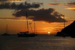 De part et d'autre (¡! Nature B■x !¡) Tags: img2230 paysage landscape coucherdesoleil sunset caraïbes mer sea caribbean soleil sun ciel sky nuage cloud antilles martinique france seascape