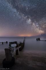 Slipway Slippery!!! (evorichie101) Tags: astro astronomy night shots milkyway mw long exposure isle wight castlehaven sea beach groyne nikon 1424