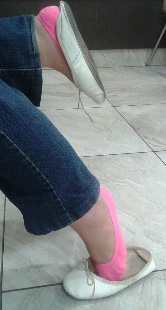 Agree, footjob in ballet slippers consider