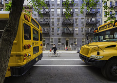 IMG_9676F (FDP Event) Tags: nyc newyork travel lomarphotography streetphotography bus cyclist school wide