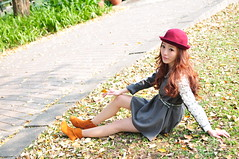 Lili0015 (Mike (JPG直出~ 這就是我的忍道XD)) Tags: lili 台灣大學 d300 model beauty 外拍 portrait 2014