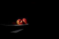 ... apples in morning light ... [Explore 08.05.17] (jane64pics) Tags: apples apple morning morninglight sunlight applesinmorninglight janefriel janefriel2017 chiaroscuro lightandshadow simple simplecomposition nature naturallight stilllife minimal minimalist lowkey
