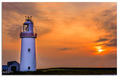 Loop Sunset (tippjim) Tags: seascapes ireland tippjim landscape nikond810 lighthouse coclare loophead westclare