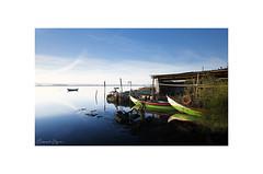Fisher Garage (Emmanuel DEPARIS) Tags: emmanuel deparis nikon d810 lee filter portugal aveiro ovar boat seascape plage lagune mer ocean pêche bleu