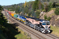 2017-05-09 SRS CF4412-CF4411 Picton 1291 (deanoj305) Tags: picton new south wales australia au black caviar revenue cf4412 cf4411 cfcla cf rail services main line nsw sydney log container train cqwy 1291 newsouthwales