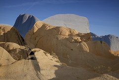 Shapely Forms (DPRPhoto) Tags: joshuatreenationalpark juniperflats rockformations doubleexposures desertlandscape