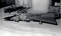 Convair F-106A Delta Dart (Sentinel28a1) Tags: convair f106 f106a deltadart 120thfig montanaang greatfallsinternationalairport greatfalls usaf interceptor fighter