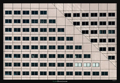Maersk Diagonal (Ilan Shacham) Tags: abstract architecture windows pattern repetition facade shape form fineart fineartphotography geometry city building rotterdam netherlands maersk diagonal