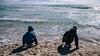 Playing (Poul_Werner) Tags: danmark denmark grenen skagen beach easter hav ocean påske sea strand frederikshavnmunicipality