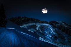 Moonlight Shadows (mcalma68) Tags: austria moonlight mountains alps night landscape