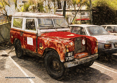 Icon of Cameron Highlands - old Land Rover Defender (forum.linvoyage.com) Tags: paint icon lr landrover land rover defender old oldstyle cameron highlands phuket island province lake malaysia penang georgetown flower mountain road drive motorcycle moto grass water viewpoint garden surface hill coast green blue tropic tropical day sly cloud car red bright color sky clouds phuketian vehicle wheel suv truck jeep джип blackandwhite explore travel
