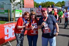 Erica, Margaret and Micahel after the race (James O'Hanlon) Tags: btr runfor96 run for 96 runforthe96 liverpool stanley park 5k race event lfc 2017 stars vip jft96 jft
