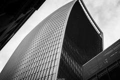 Walkie Talkie tower (Yannis Raf) Tags: canon canoneos70d canoneos ef24105mmf4lisusm ef24105mmf4 lond londonlove walkietalkietower skyscraper capitalcities uk england mono monochrome bw architecture geometrical windows constructions postprocess travelphotography