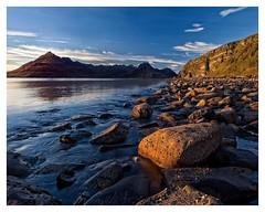 Elgol beach evening, Isle of Skye, Scotland (tekelphoto.com) Tags: d700 nikon tekelphoto sunset beach elgol instagramapp square squareformat iphoneography