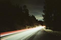 move along (film) (Art by 2wenty) Tags: 2wenty film analog analogue leica cl elmarit 24mm 28 asph night midnight road mood moody noritsuls600 mountains longexposure