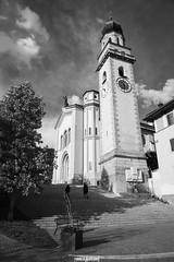 Levico Terme, Trentino (MarcoAgustoniPhotography) Tags: levico terme trentino chiesa black white bianco e nero
