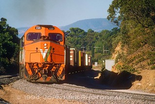 Big Bunch with C501-701 near Eden Hills (1994)