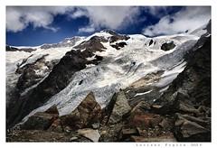 Lys Glacier and Monte Rosa (Alfoja) Tags: valledaosta daosta aosta lys monterosa ghiacciaio montagna mountains italia italy alpi alps gressoney