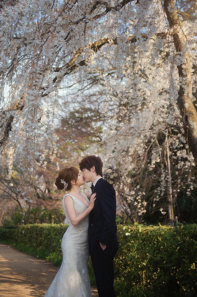 日本婚紗, 京都婚紗, 海外婚紗, 婚紗攝影, 婚攝守恆, 關西婚紗, 櫻花婚紗-8